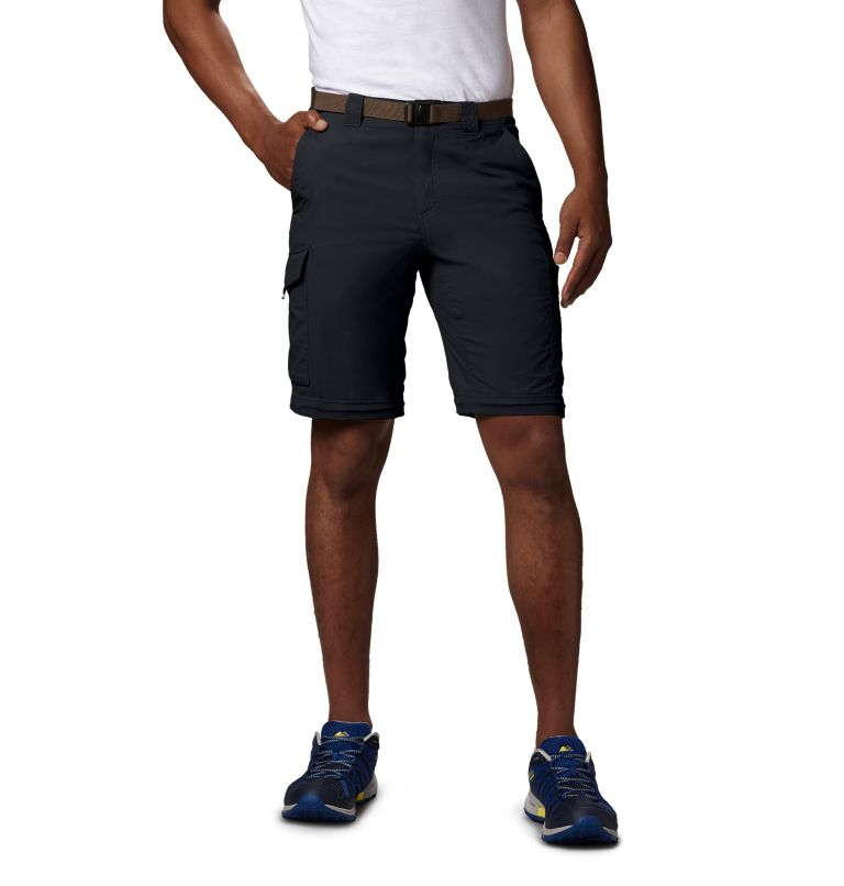 Silver Ridge™ Convertible Pant | 010 | 34 Men's Silver Ridge™ Convertible Pants, Black, a1
