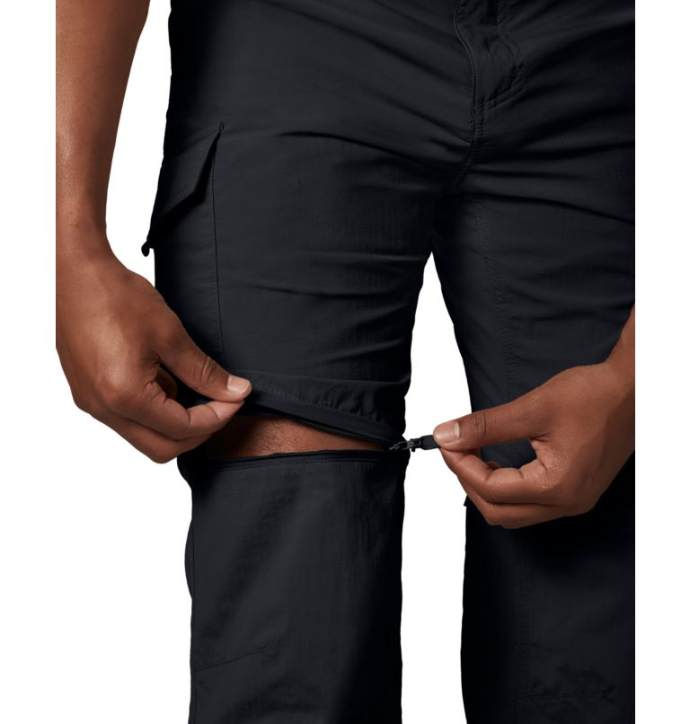 Silver Ridge™ Convertible Pant | 010 | 42 Men's Silver Ridge™ Convertible Pants, Black, a4