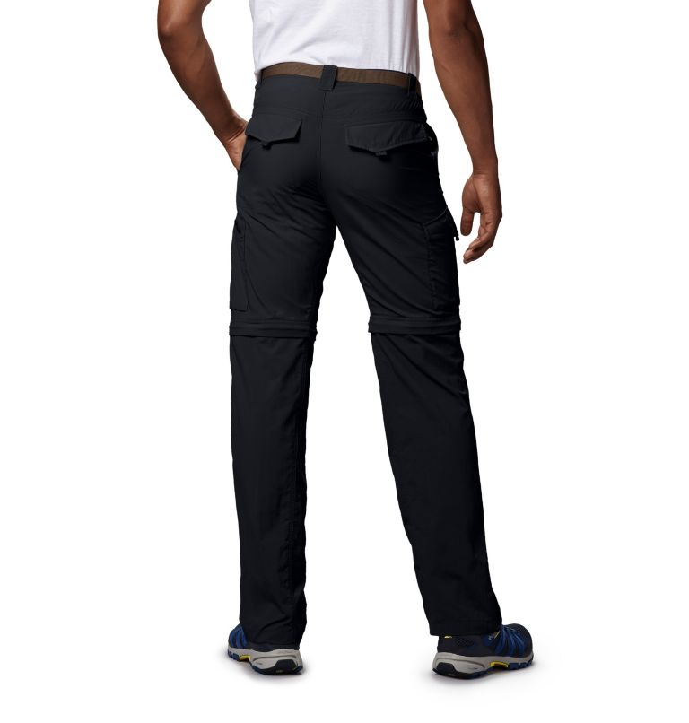 Silver Ridge™ Convertible Pant | 010 | 40 Men's Silver Ridge™ Convertible Pants, Black, back