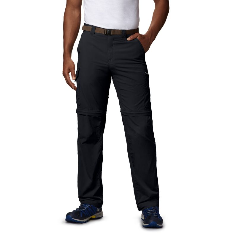 Silver Ridge™ Convertible Pant | 010 | 42 Men's Silver Ridge™ Convertible Pants, Black, front