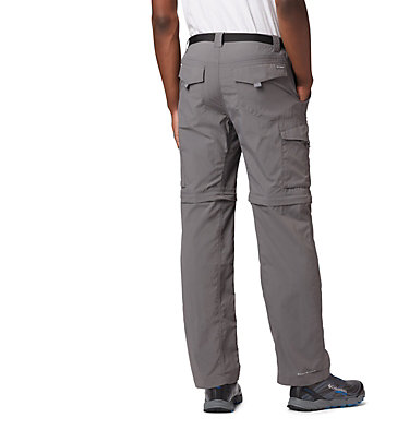 Men's Silver Ridge™ Convertible Pants Silver Ridge™ Convertible Pant | 365 | 30, City Grey, back