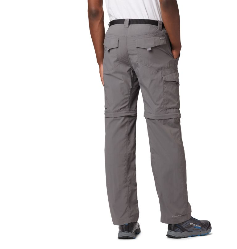 Silver Ridge™ Convertible Pant | 023 | 40 Men's Silver Ridge™ Convertible Pants, City Grey, back