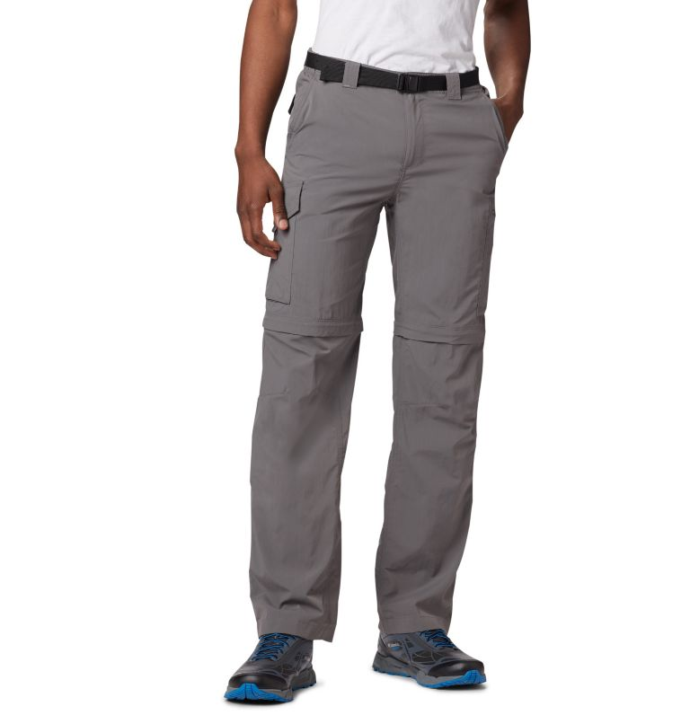 Silver Ridge™ Convertible Pant | 023 | 40 Men's Silver Ridge™ Convertible Pants, City Grey, front