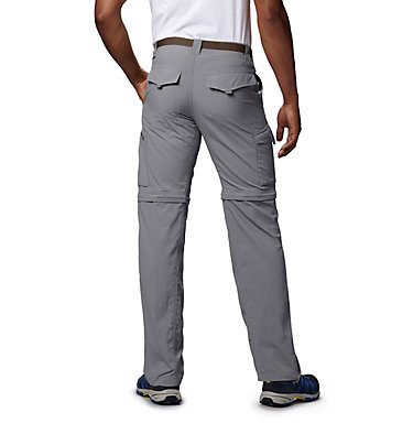Men's Silver Ridge™ Convertible Pants Silver Ridge™ Convertible Pant | 365 | 30, Columbia Grey, back