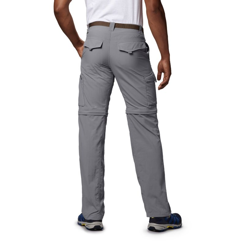 Silver Ridge™ Convertible Pant | 039 | 34 Men's Silver Ridge™ Convertible Pants, Columbia Grey, back