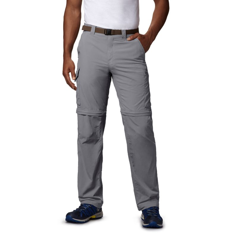 Silver Ridge™ Convertible Pant | 039 | 42 Men's Silver Ridge™ Convertible Pants, Columbia Grey, front