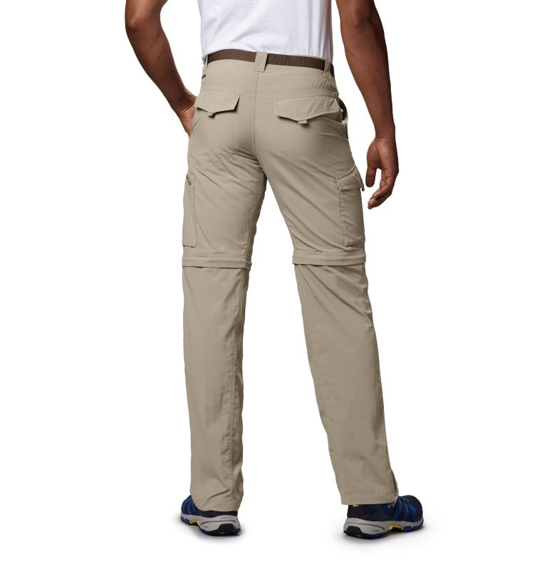 Silver Ridge™ Convertible Pant | 160 | 34 Men's Silver Ridge™ Convertible Pants, Fossil, back
