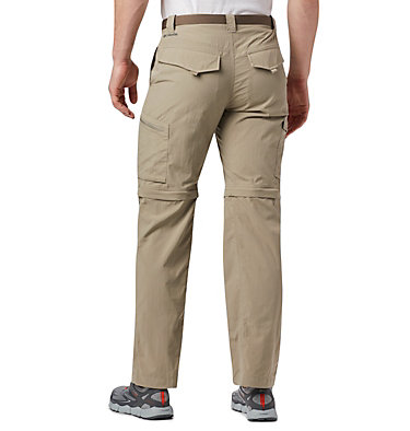 Men's Silver Ridge™ Convertible Pants Silver Ridge™ Convertible Pant | 464 | 30, Tusk, back