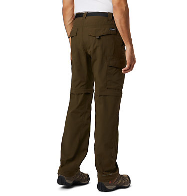 Men's Silver Ridge™ Convertible Pants Silver Ridge™ Convertible Pant | 464 | 30, Olive Green, back
