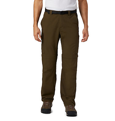 Men's Silver Ridge™ Convertible Pants Silver Ridge™ Convertible Pant | 365 | 30, Olive Green, front