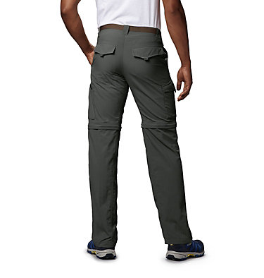 Men's Silver Ridge™ Convertible Pants Silver Ridge™ Convertible Pant | 365 | 30, Gravel, back