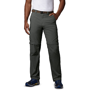 Men's Silver Ridge™ Convertible Pants Silver Ridge™ Convertible Pant | 365 | 30, Gravel, front