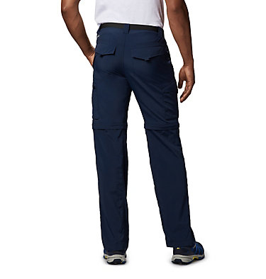 Men's Silver Ridge™ Convertible Pants Silver Ridge™ Convertible Pant | 464 | 30, Collegiate Navy, back