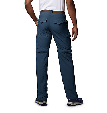 Men's Silver Ridge™ Convertible Pants Silver Ridge™ Convertible Pant | 365 | 30, Dark Mountain, back