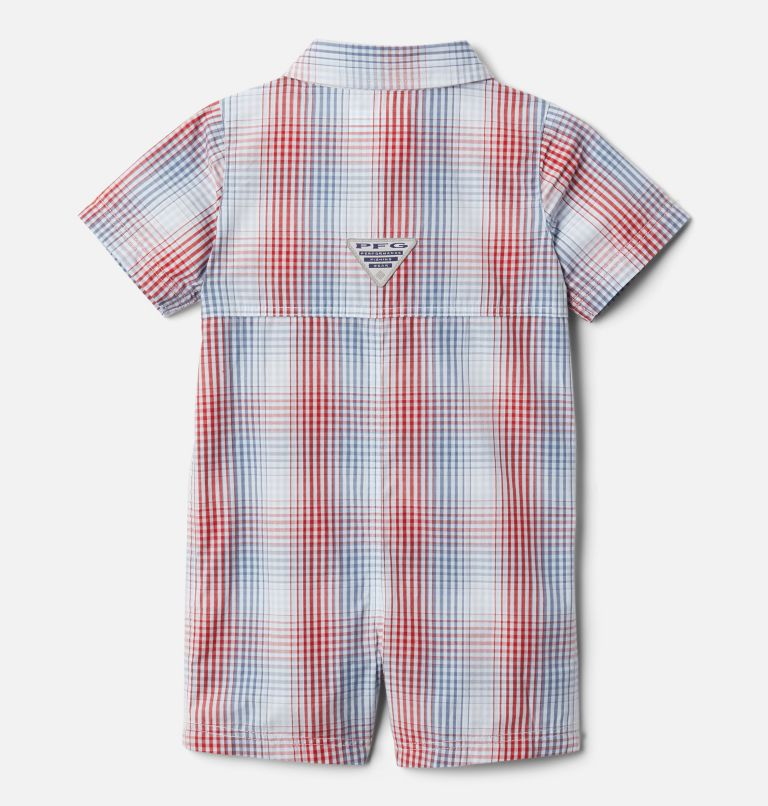 Infant PFG Bonehead™ Romper Infant PFG Bonehead™ Romper, back