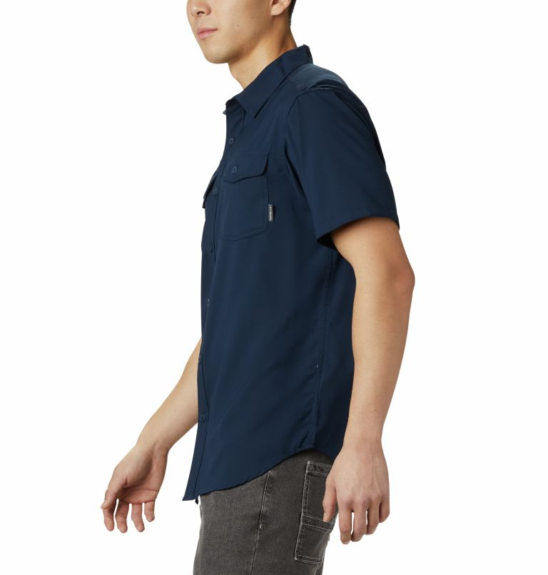 Utilizer™ II Solid Short Sleev | 464 | XL Chemise manches courtes unie Utilizer™ II Homme, Collegiate Navy, a1