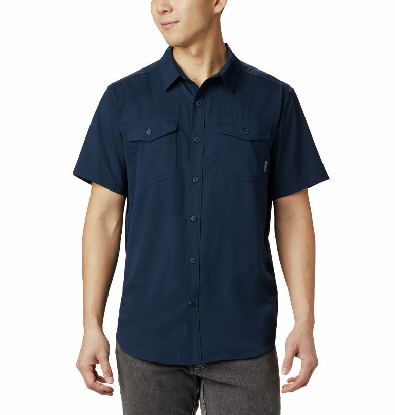 Utilizer™ II Solid Short Sleev | 464 | XL Chemise manches courtes unie Utilizer™ II Homme, Collegiate Navy, front