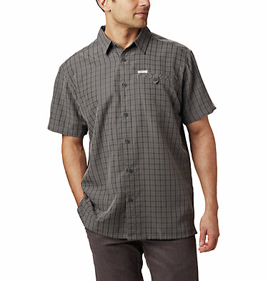 Men's Declination Trail™ II Short Sleeve Shirt Declination Trail™ II Short Sleeve Shirt | 012 | S, Boulder Mini Plaid, front