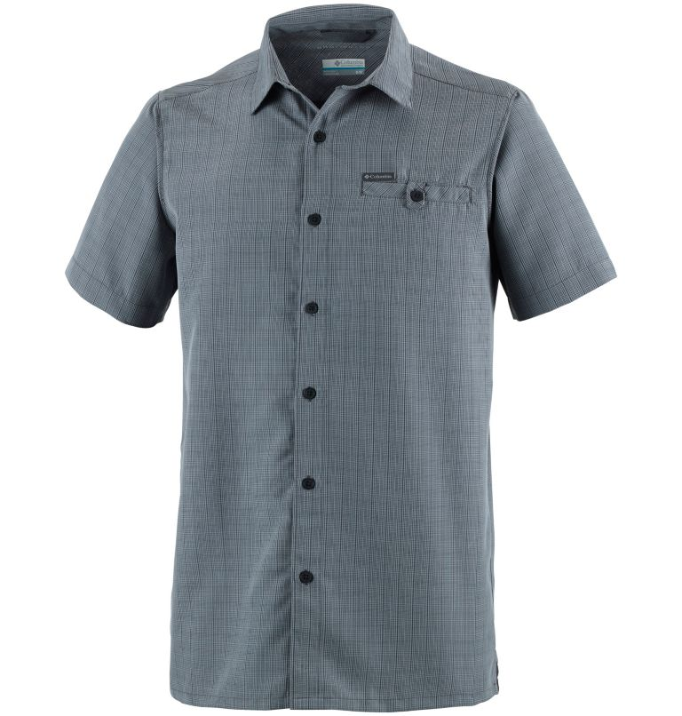 Declination Trail™ II Short Sleeve Shirt | 012 | XS Camisa de manga corta Declination Trail™ II para hombre, Shark Ombre, front