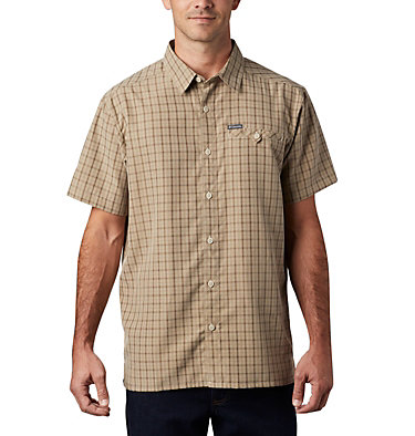 Men's Declination Trail™ II Short Sleeve Shirt Declination Trail™ II Short Sleeve Shirt | 012 | S, Fossil, front