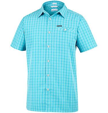 Men's Declination Trail™ II Short Sleeve Shirt Declination Trail™ II Short Sleeve Shirt | 012 | S, Iceberg Mini Plaid, front