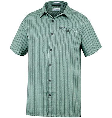 Men's Declination Trail™ II Short Sleeve Shirt Declination Trail™ II Short Sleeve Shirt | 012 | S, Cool Green Stripe, front