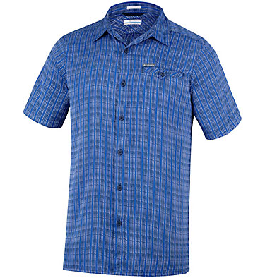 Men's Declination Trail™ II Short Sleeve Shirt Declination Trail™ II Short Sleeve Shirt | 012 | S, Collegiate Navy Stripe, front
