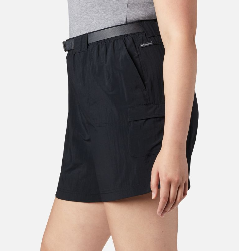 Sandy River™ Cargo Short | 010 | 1X Women's Sandy River™ Cargo Shorts - Plus Size, Black, a2