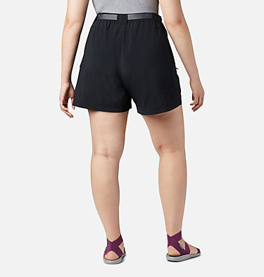 Women's Sandy River™ Cargo Shorts - Plus Size Sandy River™ Cargo Short | 319 | 1X, Black, back