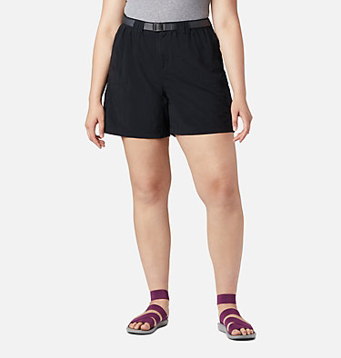 Women's Sandy River™ Cargo Shorts - Plus Size Sandy River™ Cargo Short | 319 | 1X, Black, front