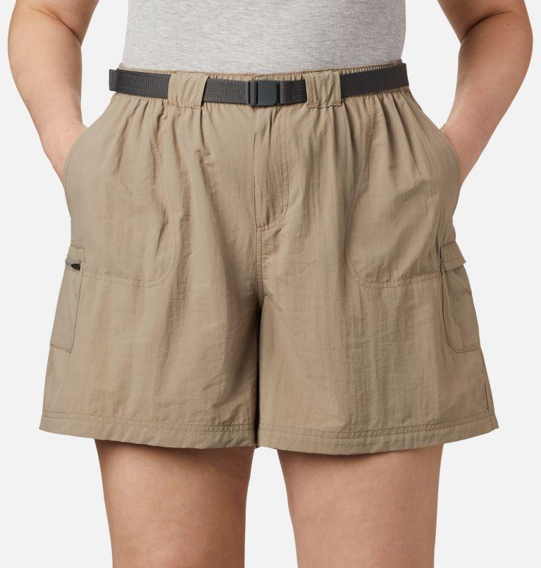 Sandy River™ Cargo Short   221   3X Women's Sandy River™ Cargo Shorts - Plus Size, Tusk, a1