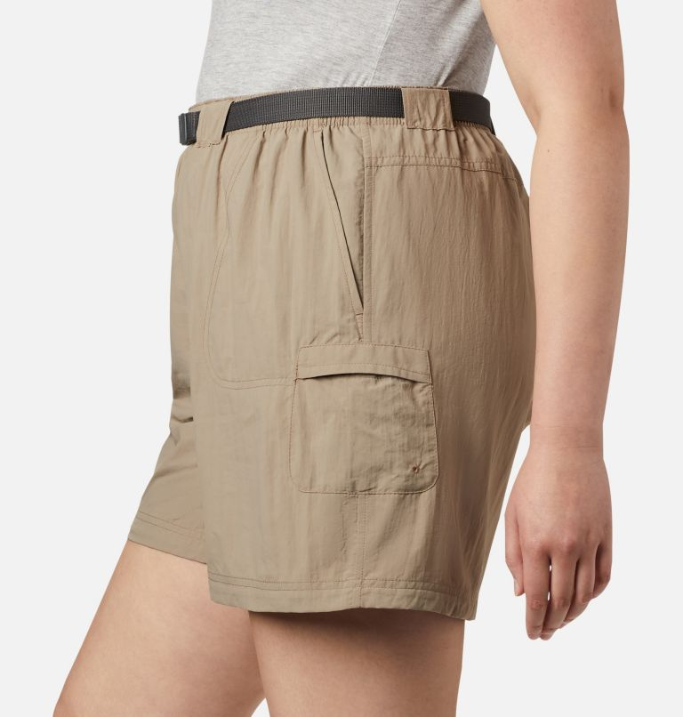 Sandy River™ Cargo Short   221   3X Women's Sandy River™ Cargo Shorts - Plus Size, Tusk, a2