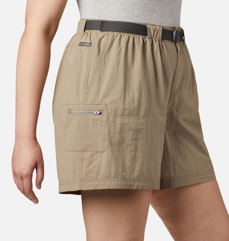 Sandy River™ Cargo Short   221   3X Women's Sandy River™ Cargo Shorts - Plus Size, Tusk, a3
