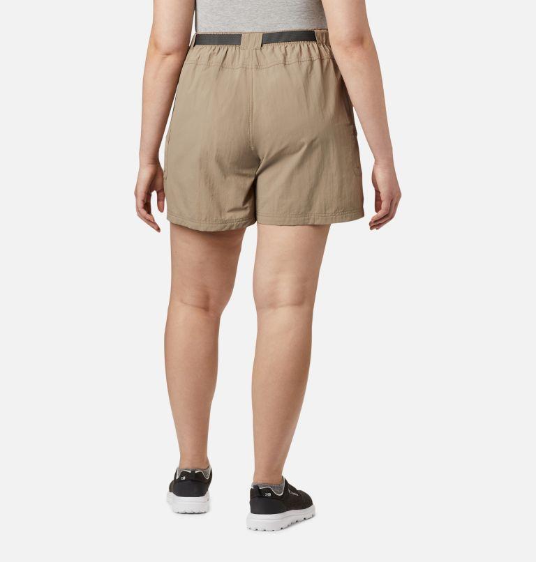 Sandy River™ Cargo Short   221   3X Women's Sandy River™ Cargo Shorts - Plus Size, Tusk, back