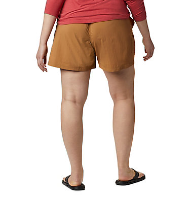 Women's Sandy River™ Cargo Shorts - Plus Size Sandy River™ Cargo Short | 319 | 1X, Light Elk, back