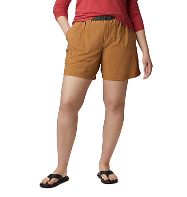 Women's Sandy River™ Cargo Shorts - Plus Size Sandy River™ Cargo Short | 319 | 1X, Light Elk, front