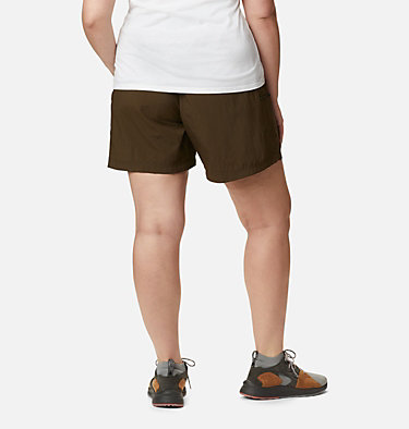 Women's Sandy River™ Cargo Shorts - Plus Size Sandy River™ Cargo Short | 319 | 1X, Olive Green, back