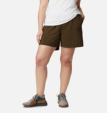 Women's Sandy River™ Cargo Shorts - Plus Size Sandy River™ Cargo Short | 319 | 1X, Olive Green, front