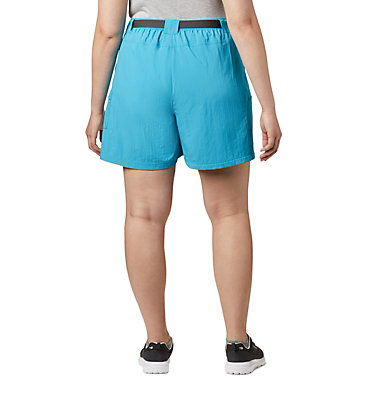 Women's Sandy River™ Cargo Shorts - Plus Size Sandy River™ Cargo Short | 319 | 1X, Clear Water, back