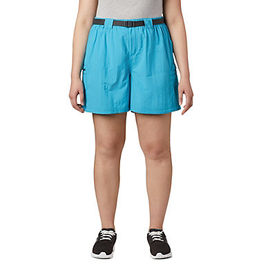 Women's Sandy River™ Cargo Shorts - Plus Size Sandy River™ Cargo Short | 319 | 1X, Clear Water, front