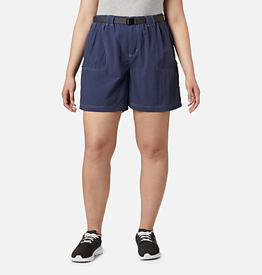 Women's Sandy River™ Cargo Shorts - Plus Size Sandy River™ Cargo Short | 319 | 1X, Nocturnal, front