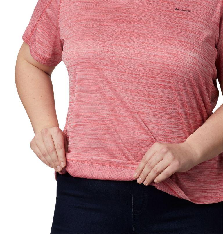 Zero Rules™ Short Sleeve Shirt | 643 | 2X T-shirt à manches courtes PFG Zero Rules™ pour femme, Rouge Pink Heather, a3