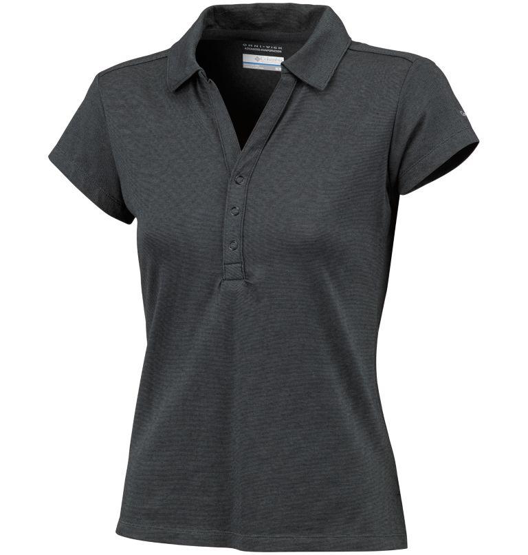 Women's Shadow Time™ Polo–Plus Size Women's Shadow Time™ Polo–Plus Size, front