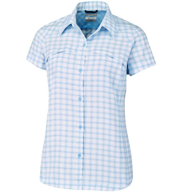 Chemise Manches Courtes Tissu Écossais Silver Ridge™ Femme–Grande Taille Chemise Manches Courtes Tissu Écossais Silver Ridge™ Femme–Grande Taille, front