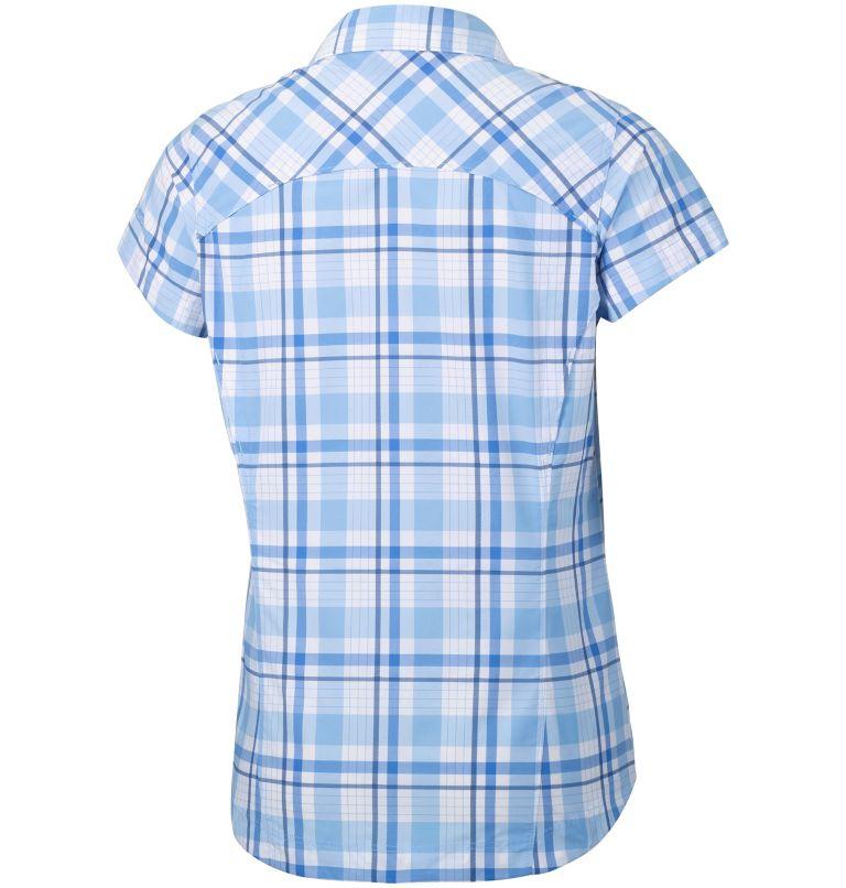 Chemise Manches Courtes Tissu Écossais Silver Ridge™ Femme–Grande Taille Chemise Manches Courtes Tissu Écossais Silver Ridge™ Femme–Grande Taille, back