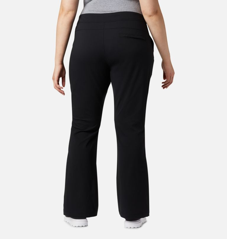 Anytime Outdoor™ Boot Cut Pant | 010 | 16W Women's Anytime Outdoor™ Boot Cut Pants - Plus Size, Black, back