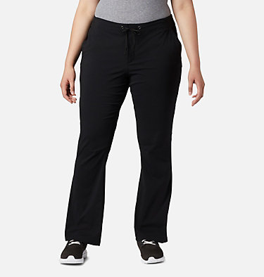 Women's Anytime Outdoor™ Boot Cut Pants - Plus Size Anytime Outdoor™ Boot Cut Pant | 023 | 16W, Black, front
