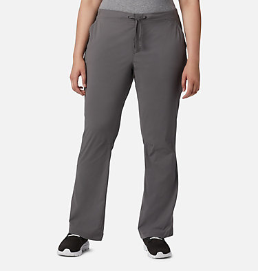 Women's Anytime Outdoor™ Boot Cut Pants - Plus Size Anytime Outdoor™ Boot Cut Pant | 023 | 16W, City Grey, front