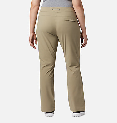 Women's Anytime Outdoor™ Boot Cut Pants - Plus Size Anytime Outdoor™ Boot Cut Pant | 023 | 16W, Tusk, back
