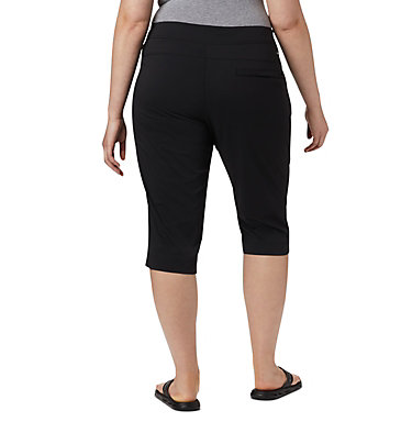 Women's Anytime Outdoor™ Capri - Plus Sizes Anytime Outdoor™ Capri | 249 | 18W, Black, back